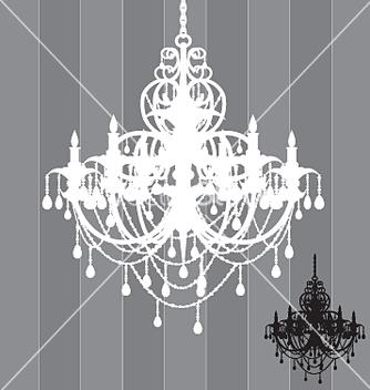Free chandelier vector - vector gratuit #271497