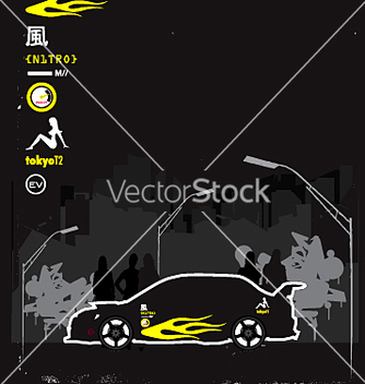 Free boy racer vector - бесплатный vector #271517