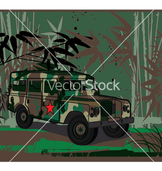 Free army jeep vector - Free vector #271567