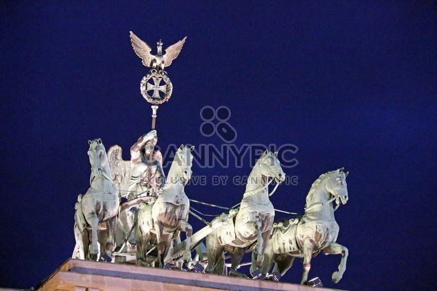 Estátua de Brandenburger Tor (Brandenburg Gate), Berlim, Alemanha - Free image #271657