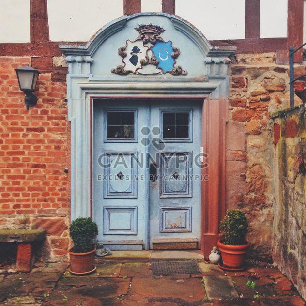 Portas de um antigo edifício, Marburg, Alemanha - Free image #271667