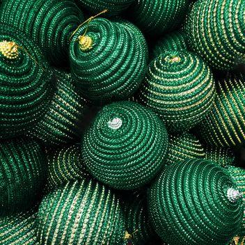 Green Christmas balls - Free image #271747