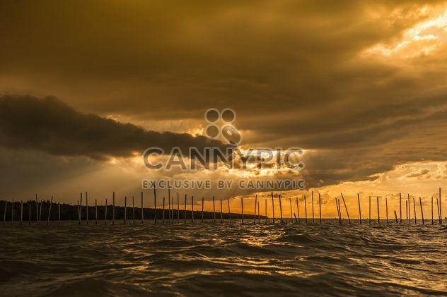 Wolkenschleier Sonnenuntergang - Kostenloses image #271807