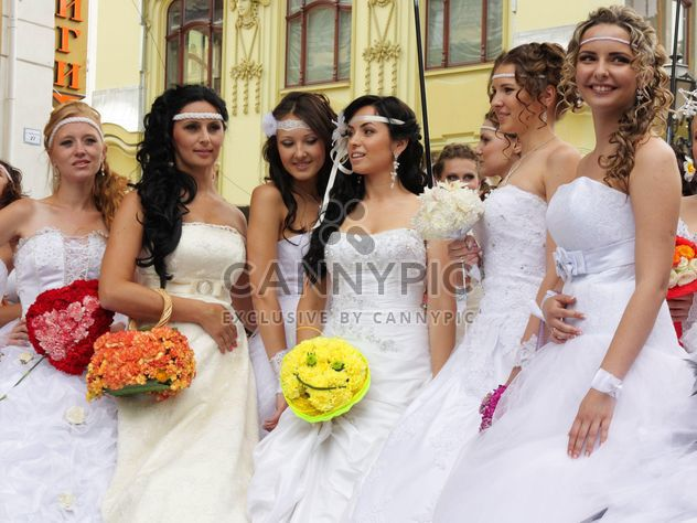 The bride parade - Free image #272597