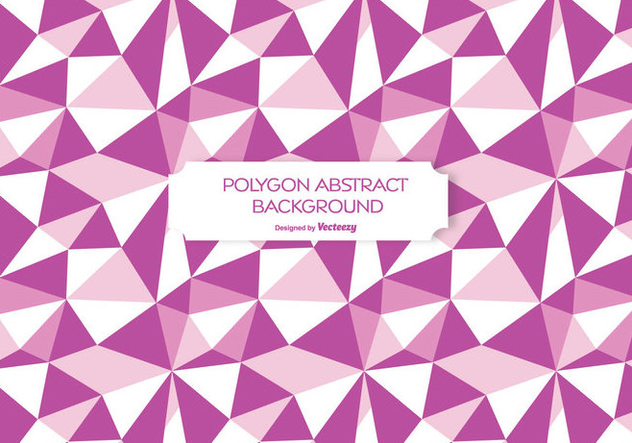 Abstract Polygon Background Illustration - vector gratuit #272677
