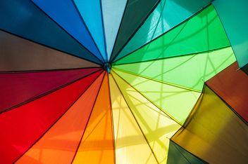 Rainbow umbrellas - image #273137 gratis