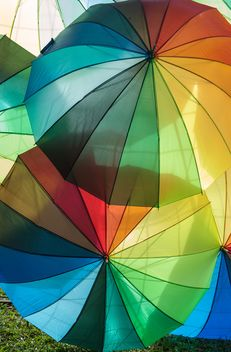 Rainbow umbrellas - Free image #273147
