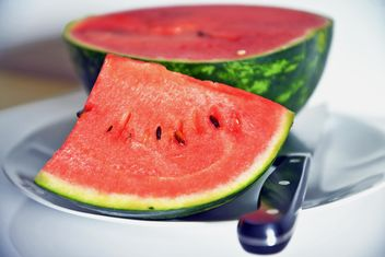 Cutted watermelon - image gratuit(e) #273157