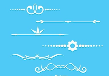 Page Decoration - vector gratuit #273387