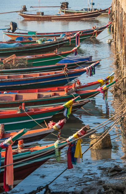 Fishing boats on berth - Free image #273597