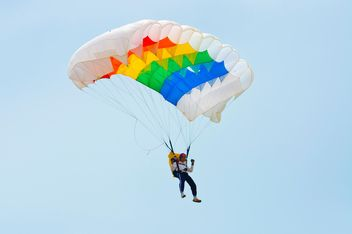 colorful of parachute - image gratuit(e) #273607