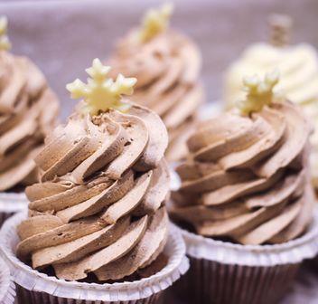 Christmas cupcake - image #273867 gratis
