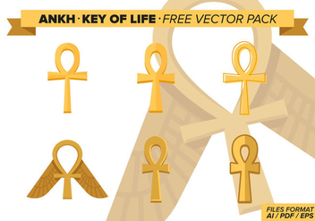Ankh Key Of Life Free Vector Pack - Free vector #273957