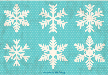 Decorative Snowflakes - vector gratuit #274007