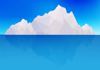 Iceberg vector - бесплатный vector #274017