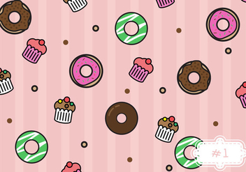 Free Bake Sale Pattern #1 - бесплатный vector #274157