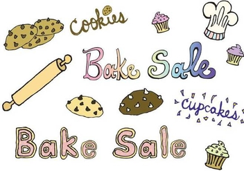 Free Bake Sale Vector Series - бесплатный vector #274617