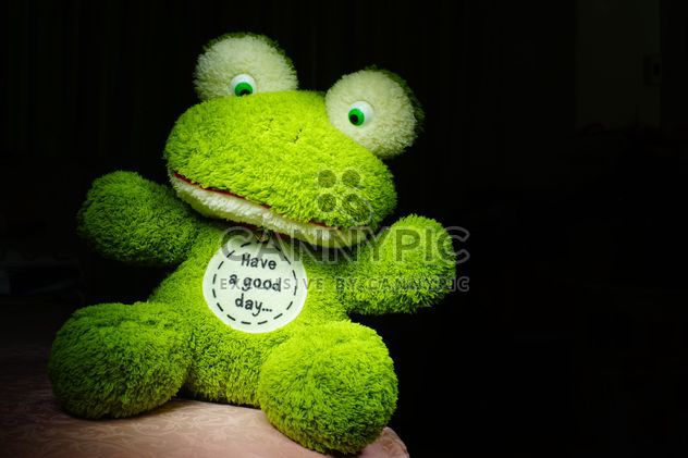 Green toy frog - Free image #274787