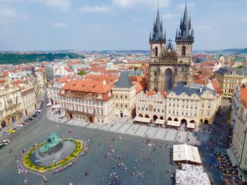 Prague square - image gratuit(e) #274897