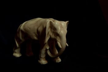 The elephant made of stone - image gratuit #274927