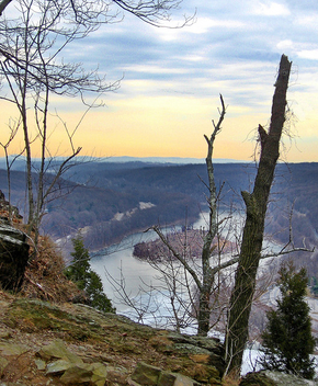 Winter view - Delaware Water Gap - image #277857 gratis