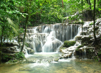 Waterfall Palenque Mexico one of my favorites - Kostenloses image #278067