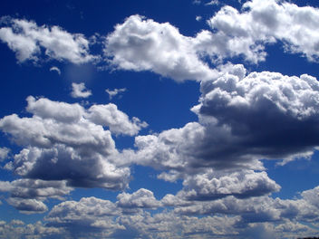 Blue Sky and Clouds - image gratuit(e) #278477