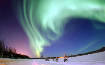 Aurora Borealis - Bear Lake, Alaska - Free image #279987