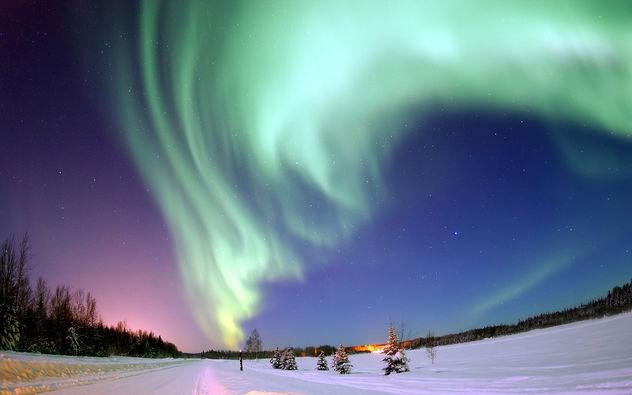 Aurora Borealis - Bear Lake, Alaska - бесплатный image #279987