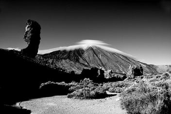 Teide b&w - бесплатный image #280797