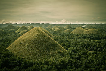 Philippines - Bohol - Chocolate Hills - image gratuit #284507