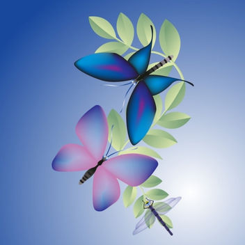 Butterflies - Kostenloses image #285317
