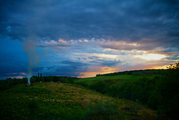 Bonfire, Italian Countryside Style - Free image #286857