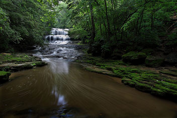 Fallsville Ohio Waterfalls - Free image #288717