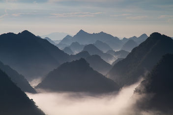 Moning in Bac Son Valley - image gratuit #290357