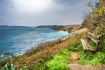 S W coast path, Saint Anthony, Cornwall, United Kingdom - бесплатный image #291627