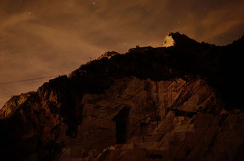 Marble quarries by night - Free image #292687