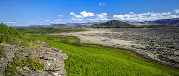 Helgafell & Old lava - Free image #293357