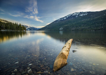 Sunset On Revelstoke Lake - Kostenloses image #296267
