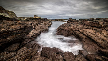 Tantallon castle, North Berwick, Scotland, United Kingdom - Kostenloses image #296937