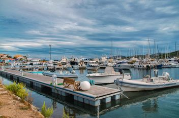 Boats and yachts in the port of Sardinia, Italy - Free image #297497