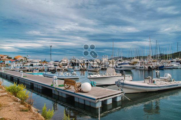 Boats and yachts in the port of Sardinia, Italy - image #297497 gratis