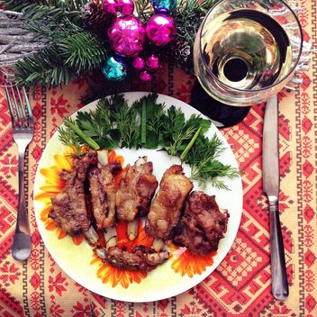 Christmas dish - Kostenloses image #301357