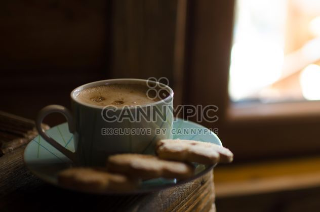 Café con cookies - image #302317 gratis