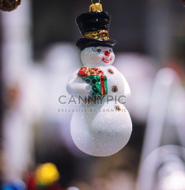 Рождественский снеговик праздник - бесплатный image #302367