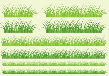 Grass Banners - Free vector #302437