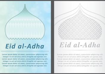 Eid Al-Adha Cards - Free vector #302687