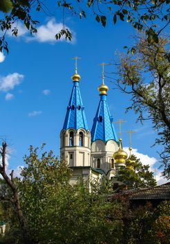 Cathedral of the Annunciation and Monument of Nikolay Muravyov-Amursky and Saint Innocent of Alaska and Siberia - бесплатный image #302787