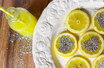 Sliced Lemon - image gratuit #302817