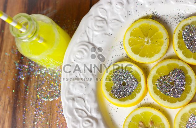 tranches de citron - image gratuit #302817